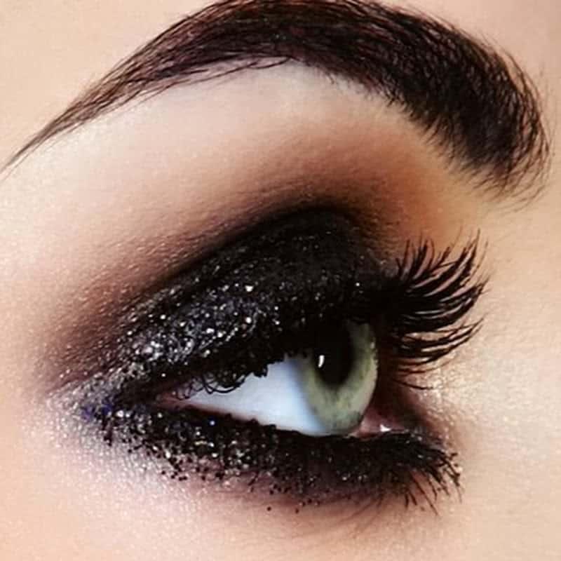 مكياج العيون المبطنة 1