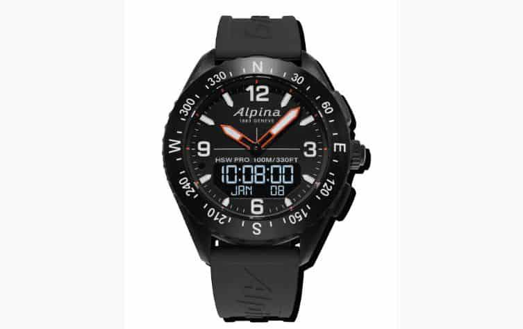 d4da694ae تنتمي هذه الساعة إلى ماركة «Alpina»، حيث أطلقت الشركة هذه الساعة الذكية  «the AlpinerX»، حيث جمعت أكثر من مليون جنيه استرليني خلال ثلاثة أسابيع فقط.