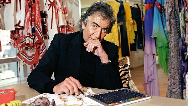Roberto Cavalli Italian fashion designer
