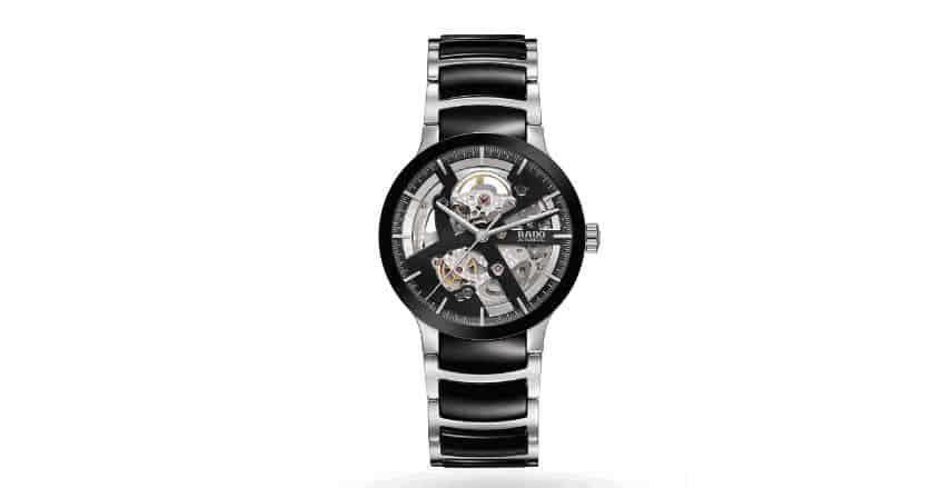 cb7c5ba0e4d62 RADO CENTRIX SKELETON، ساعة رجالي مميزة وفريدة، تتمتع الساعة بحركة  أوتوماتيكية، معها ضمان لمدة عامين. يتميز هيكل الساعة وحزام الساعة بصناعة من  الفولاذ ...