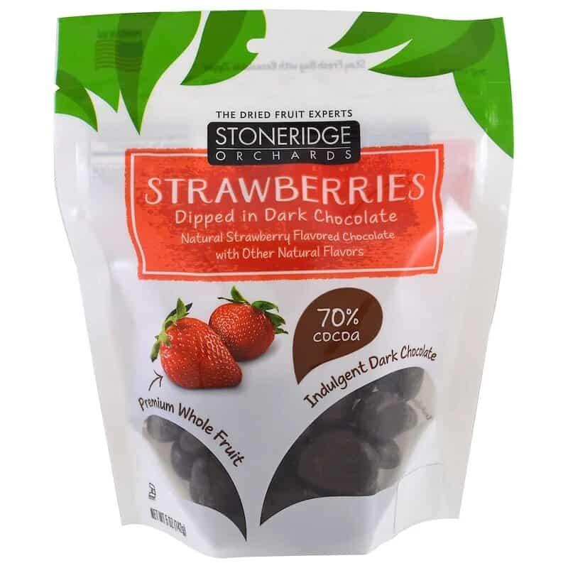 الفراولة المغلفة بالشوكولاتة من Stoneridge Orchards
