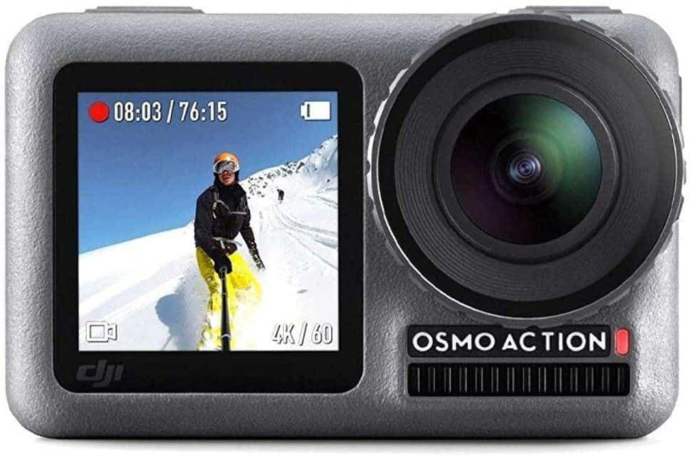 كاميرات الفيديو OSMO ACTION المائية من شركة دي جي أي