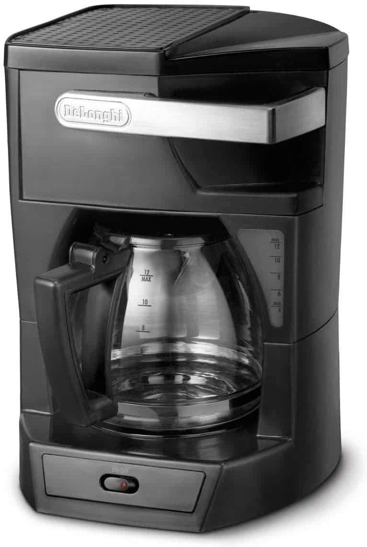 ماكينة تحضير القهوة بفلتر 1.8 لتر من ديلونجي