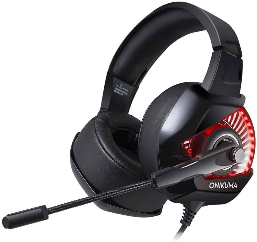 سماعات أذن ستيريو للألعاب من ONIKUMA K6