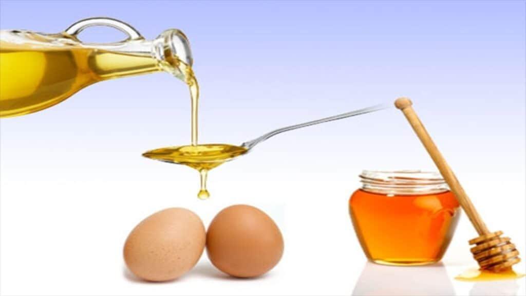 ماسك البيض والعسل