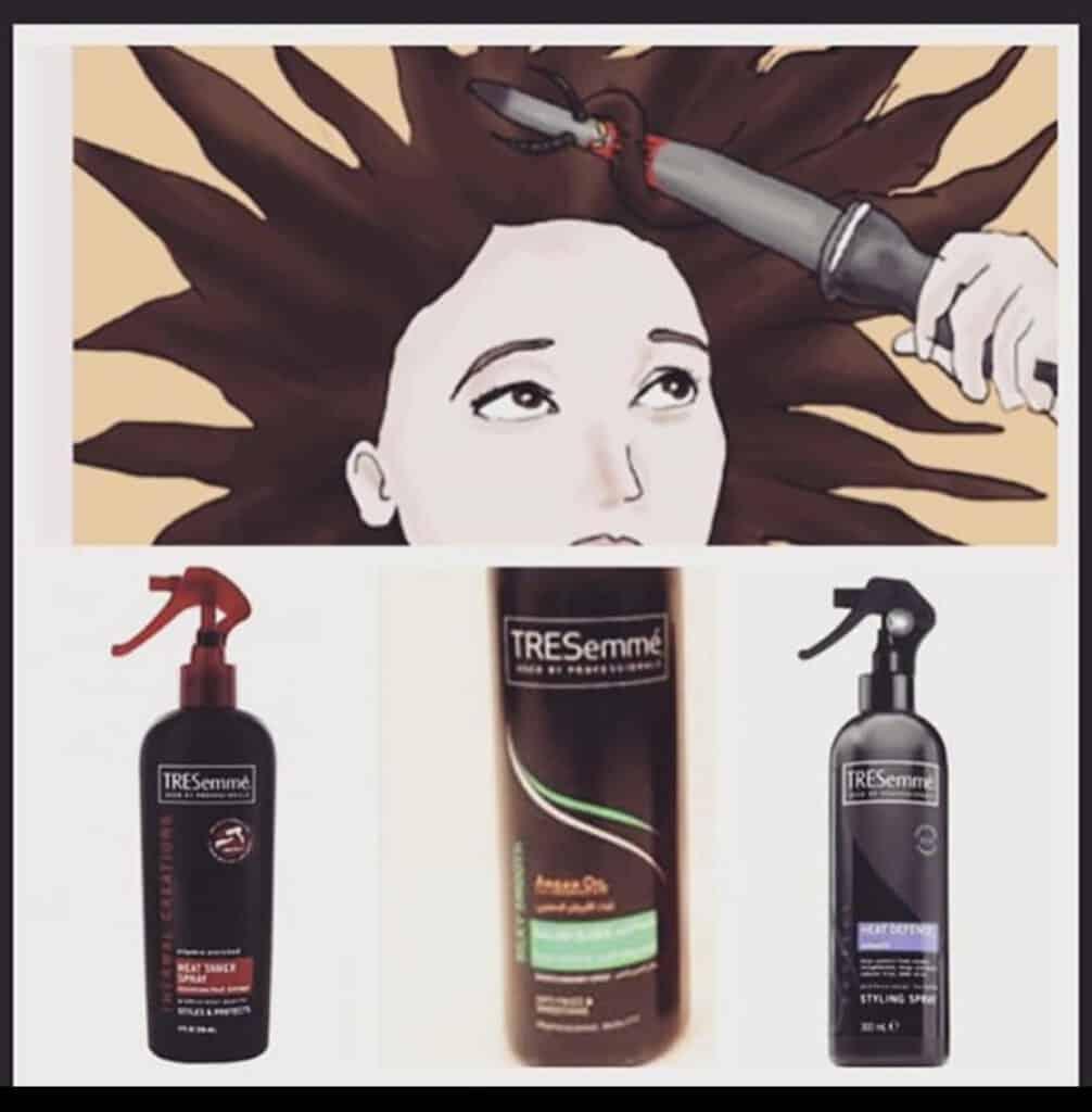 حماية الشعر من حرارة الأستشوار