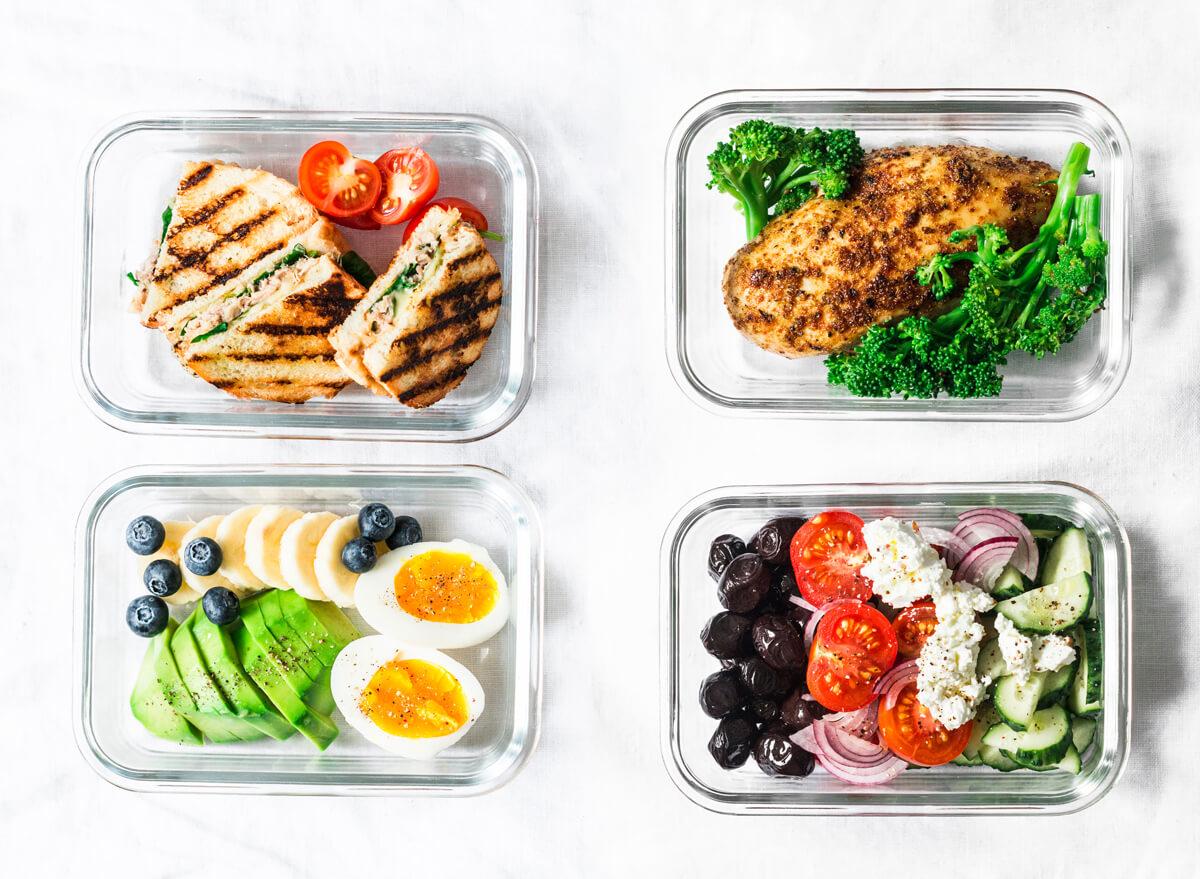 وجبات صحية متكاملة