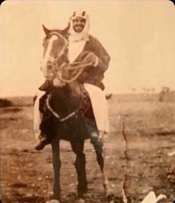 فرس الملك عبدالعزيز