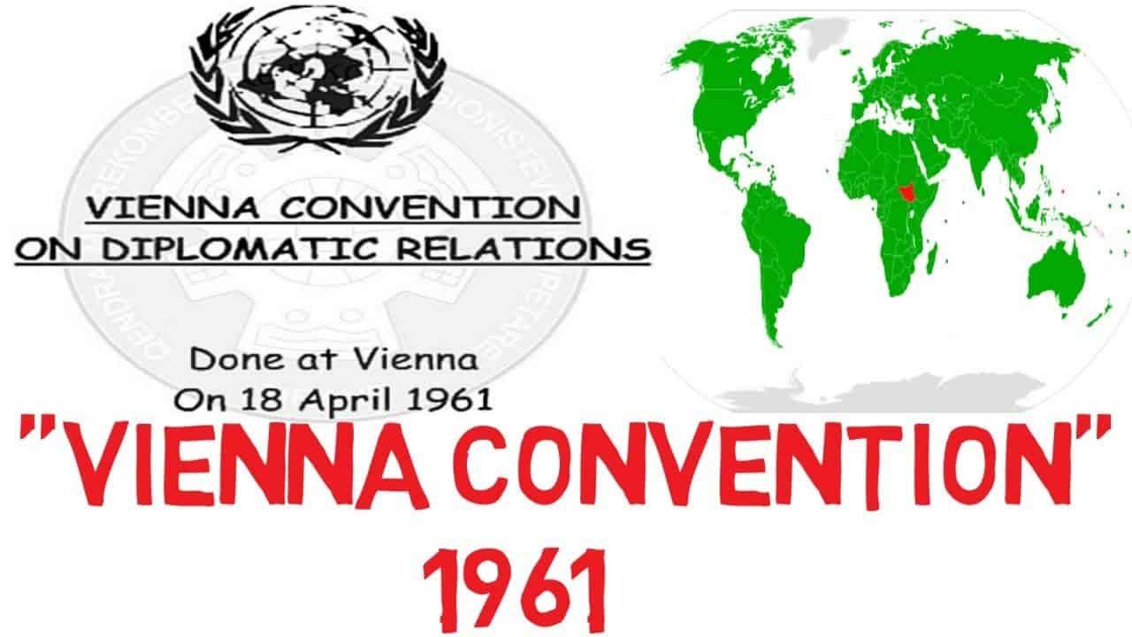 اتفاقية فيينا للعلاقات الدبلوماسية