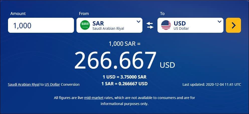 تحويل الجنيه المصري للريال السعودي