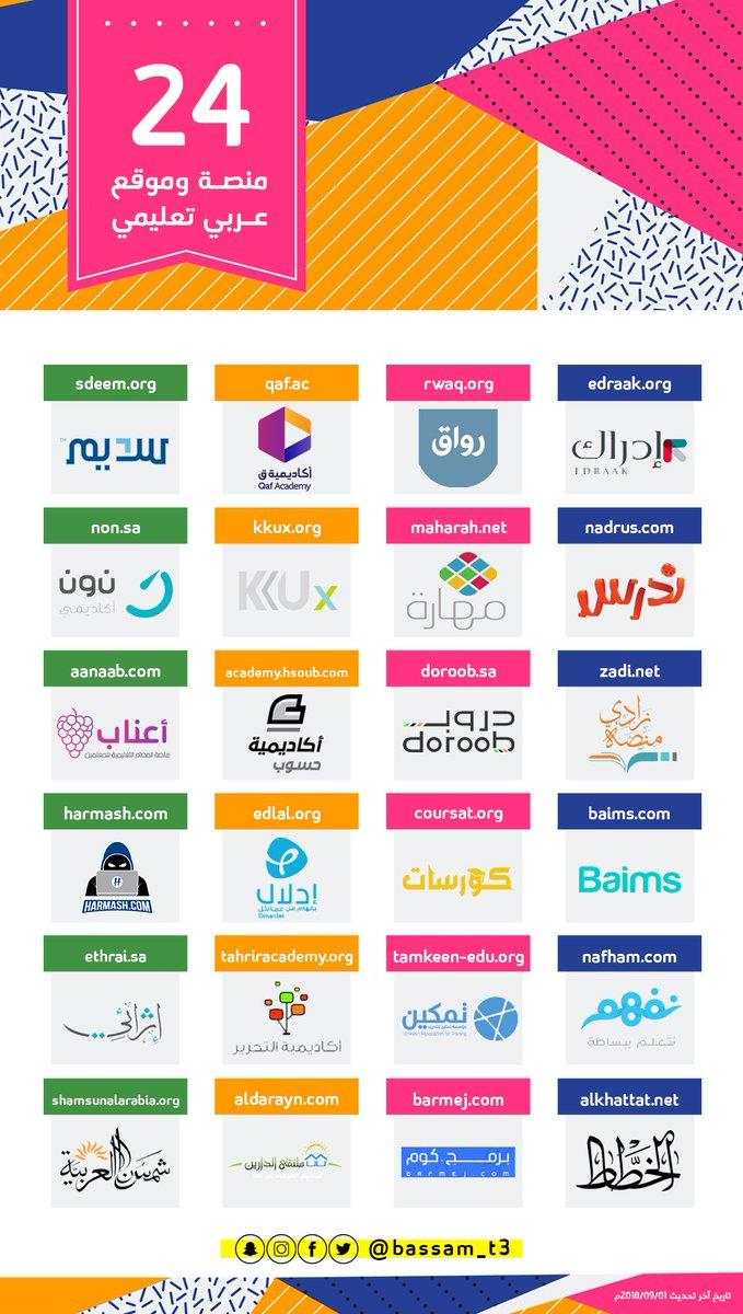 منصات تعليم عربية