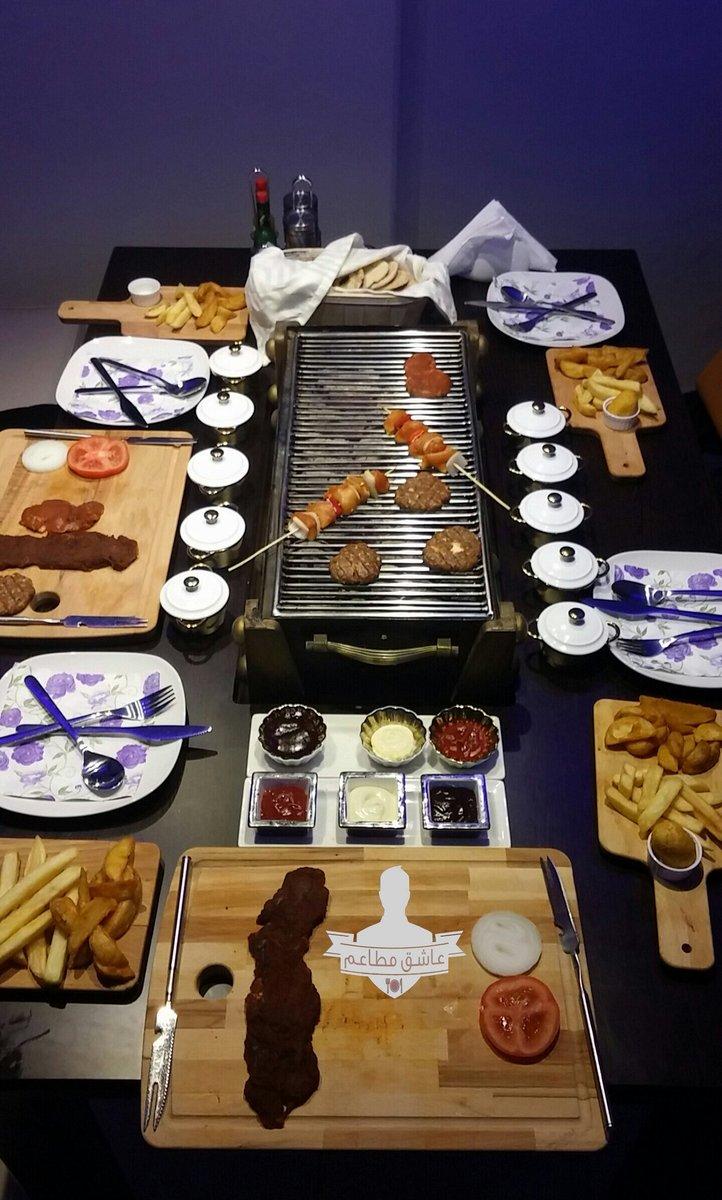 صورة الوجبات في مطعم جلسة شواء