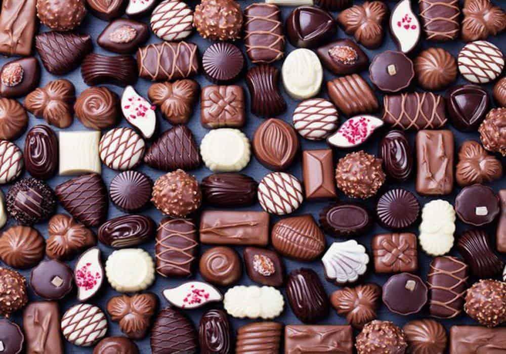 محلات شوكولاته للعيد