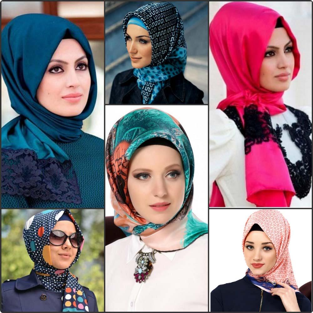 حجابات ملونه لسفر