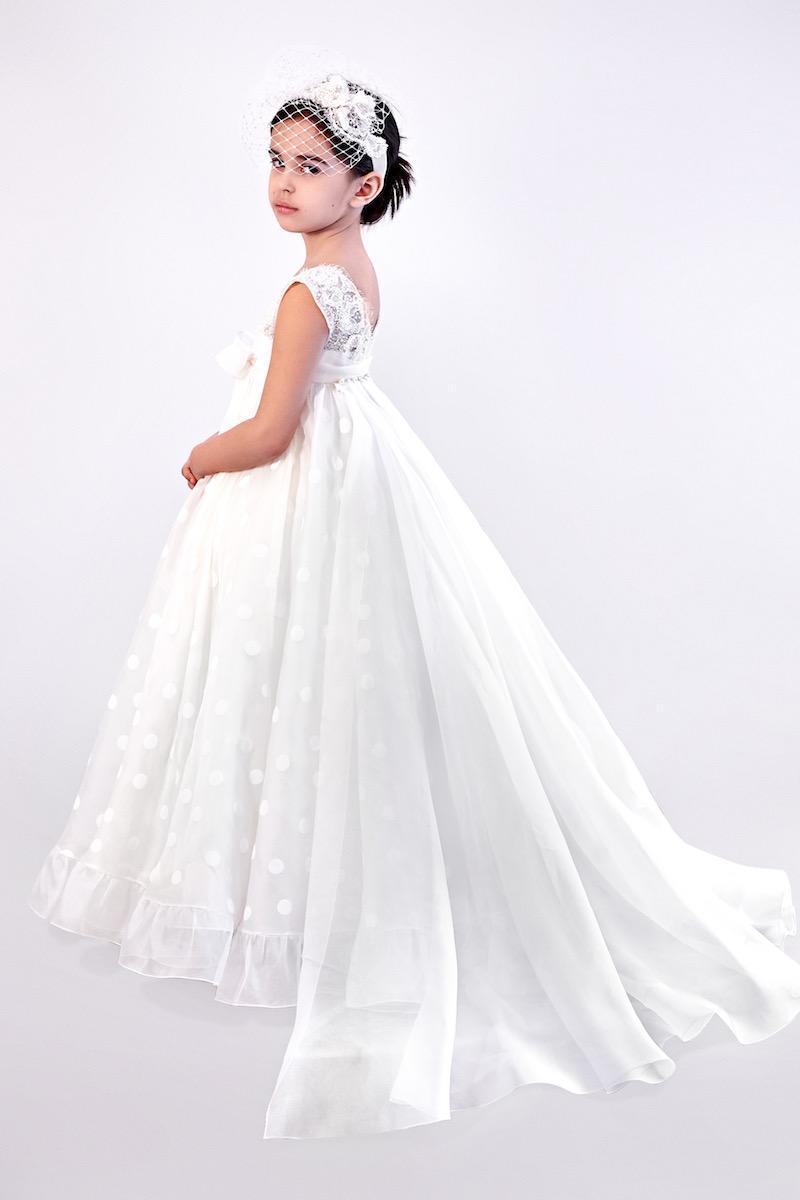 فستان فرح لبنت صغيرة