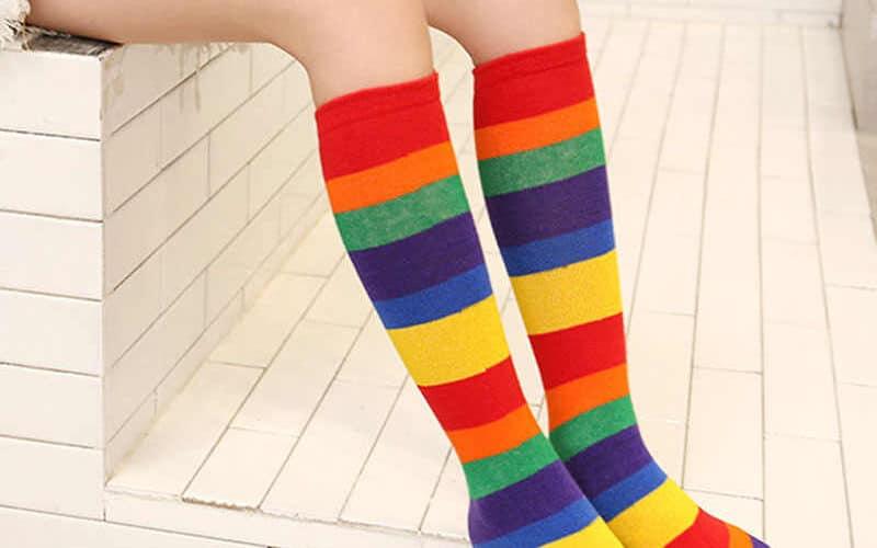 جوارب طويلة للاطفال