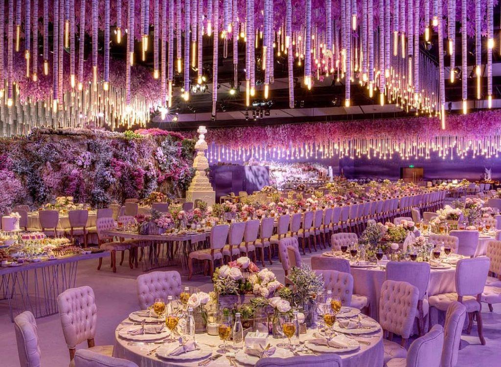 قاعة زواج فخمة