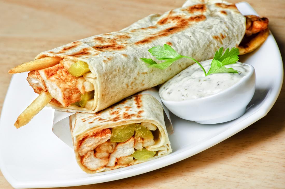 مطاعم المكرونة و الشاورما