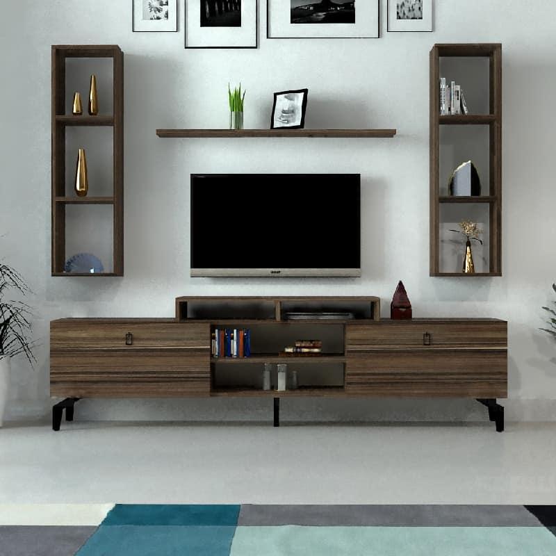 طاولة تلفزيون خشب