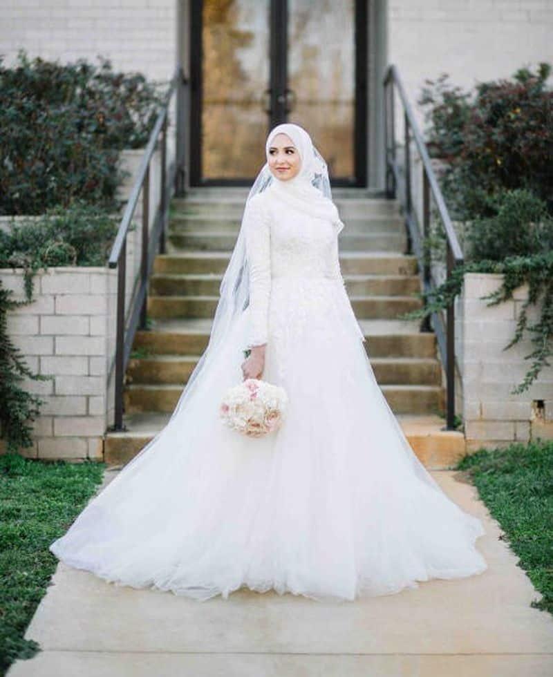 افضل فساتين عروس ناعم بالرياض